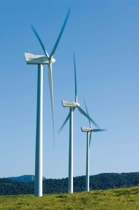 Wind farm (pic courtesy of Gamesa).