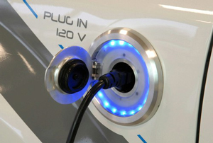 Electric vehicle charging, California