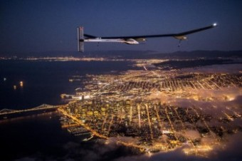 Across America – Golden Gate Flight © Solar Impulse / J. Revillard