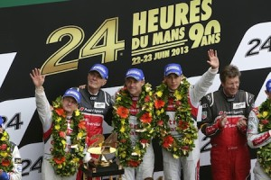 Audi and Williams flywheel energy storage win Le Mans