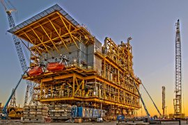 The Castor Project is an underground natural gas storage facility on the east coast of Spain.