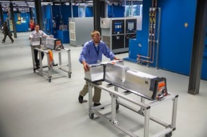 GM has expanded its electric vehicle battery systems laboratory in Michigan. Photo: © General Motors