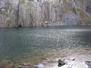 Lower Glyn Rhonwy Quarry, Wales.