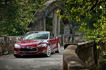 herlands, Belgium, France and Germany are starting to receive the first European Model S cars. Photo credit: Tesla Motors