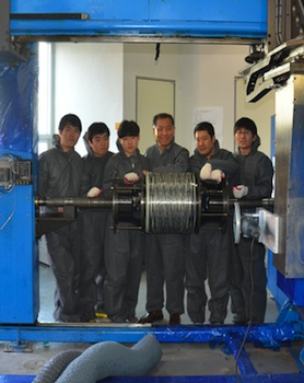 Beacon Power has bought advanced flywheel energy storage technology from Hanyang University in Korea.