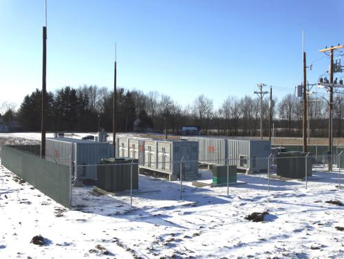 RES Americas has opened the first dedicated grid frequency regulation energy storage plant in Ohio for PJM.