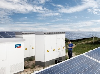 We look at developments in the inverters for battery storage market from companies such as Eguana Technologies, ABB, Outback Power and SMA, who have a whole battery inverter family for integration with solar energy.