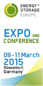 Energy Storage Europe Expo and Conference: 9-11 of March 2015, Dusseldorf, Germany