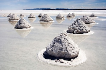 After last week's Bolivia lithium mining deal, how important are rare earth batteries in energy storage? The Uyuni salt lake, location of most Bolivian lithium reserves.