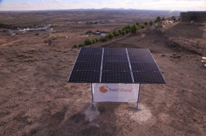 Independent power producers and energy storage: IPPs are likely to focus on short-term energy storage in markets like California, SunEdison says. Photo: A SunEdison Outdoor Microstation