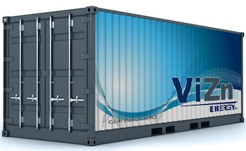 Redox flow battery company Vizn Energy Systems has announced a deal with Jabil Circuit that could see production increasing to 80MW per year in 2016.
