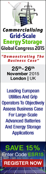 Presenting The Future Road Map For Commercialising Energy Storage Applications For Global Utilities: 25th - 26th November, 2015 - London, UK