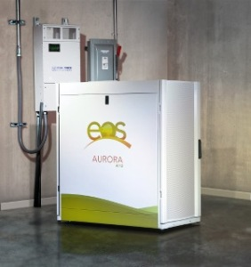 Eos Energy Storage talks about its future business plans – which include global expansion for the grid-scale Eos Aurora battery. Photo credit: Ideal Power