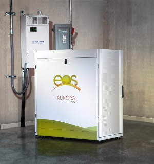 Eos Energy Storage, the grid-scale Aurora battery manufacturer, talks about its future business plans – which includes global expansion. Photo credit: Ideal Power