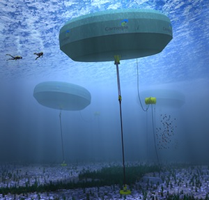 Energy storage in Australia is blazing a trail, in no small part due to these projects funded by the Australian Renewable Energy Agency. Photo credit: Carnegie Wave Energy CETO 6, ARENA
