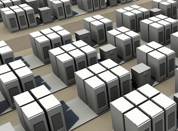 Dynapower, inverter supplier for the Tesla Powerpack, explains the reasons behind the huge growth in its energy storage business and its hopes for silicon carbide semiconductor technology. Photo credit: Tesla Motors