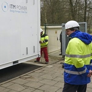 ITM Power share price slides, despite the announcement of a collaboration with Ove Arup & Partners on hydrogen refuelling stations and hydrogen power systems. Photo credit: ITM Power
