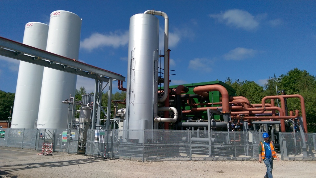 Highview's pre-commercial demonstration plant is due to enter operation this summer. Image credit: Highview Power Storage.
