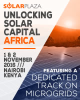 Solarplaza and GOGLA are proud to announce the organization of Unlocking Solar capital Africa (1-2 November 2016, Nairobi): the unique international platform and 2-day conference focusing on unlocking capital for new solar project development in Africa.