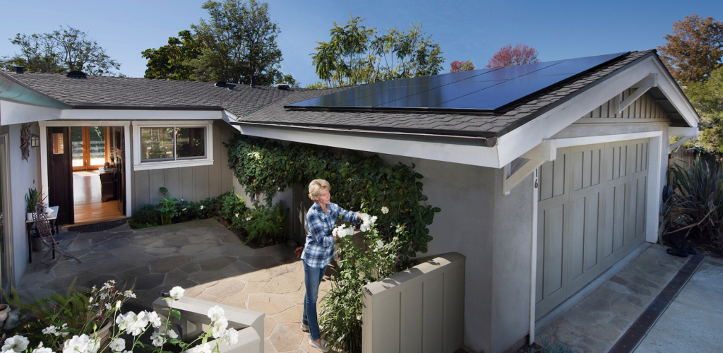 Residential solar could become energy storage's heartland in a few years, according to research from Bloomberg New Energy Finance. Pic: SunPower.