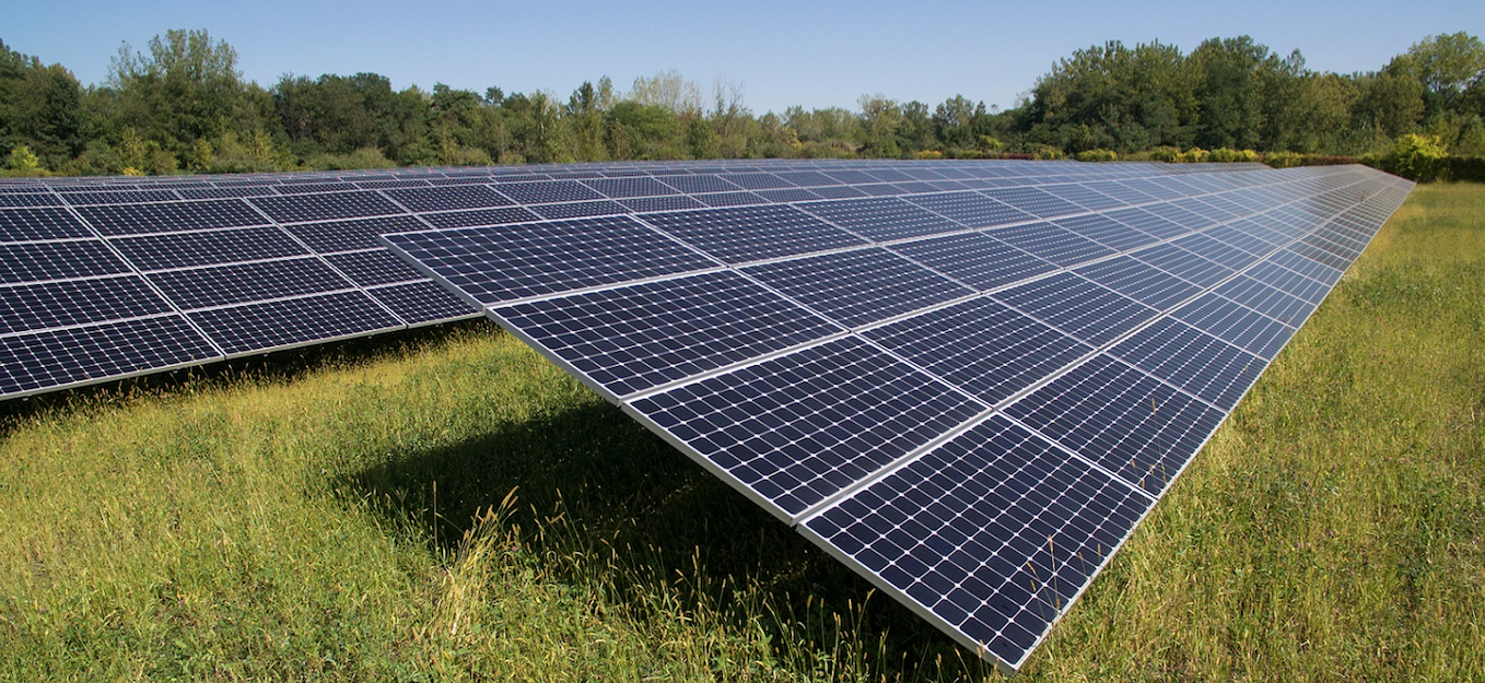 Solar panel pricing is at an all-time low due to overcapacity in the market. Image: SunPower.