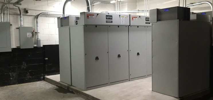 Demand Energy installations are impressive... but it's the invisible energy storage software controlling them that is the real attraction for Enel. Pic: Demand Energy
