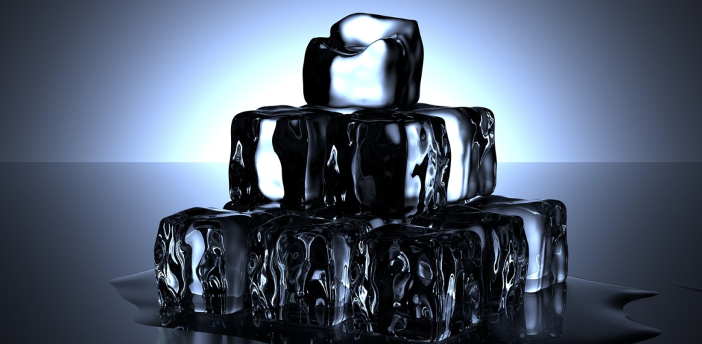 Ice Energy's remarkable storage compound is colourless, odourless and so safe you can drink it. Pic: Pixabay.