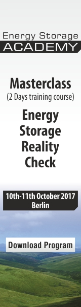 The Energy Storage World Forum Energy Storage Masterclass: sign up now.