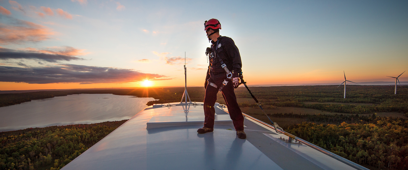 GE expects storage to take a more central role in the grid as the penetration of renewables increases. Pic: John Hryniuk Photography for GE.