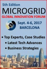 The 5th Microgrid Global Innovation Forum in Barcelona, from September 4 to 6, 2017.