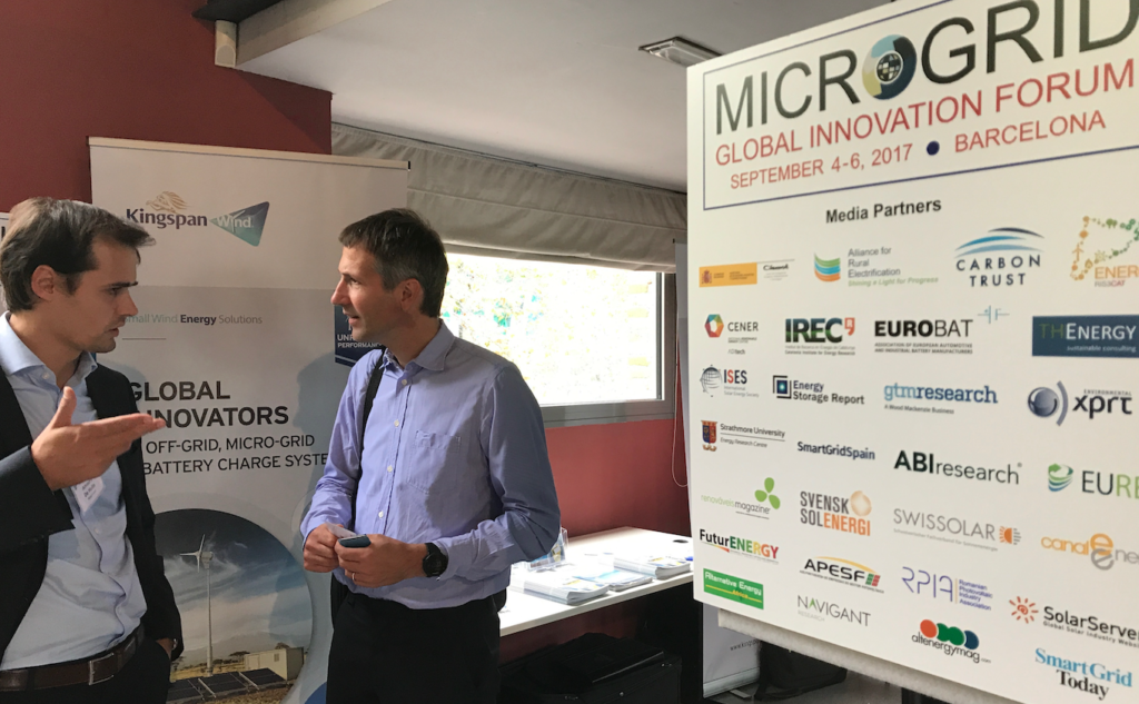 The 5th Microgrid Global Innovation Forum took place in Barcelona this month. Pic: Energy Storage Report.