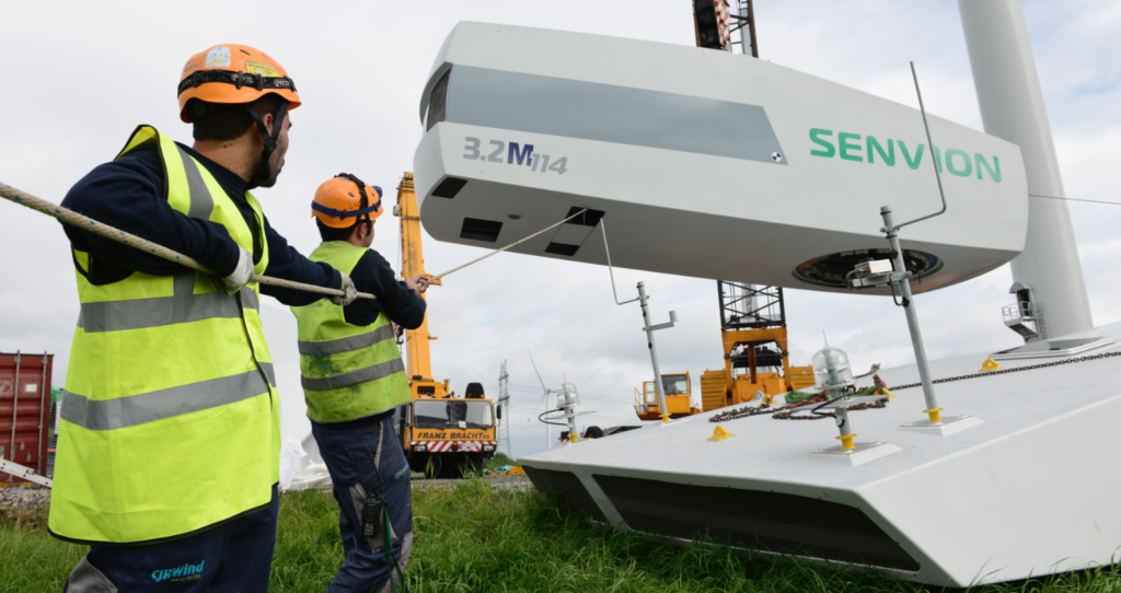 Experts say energy storage could benefit from similar insurance arrangements to those available for renewable energies such as wind. Pic: Senvion.
