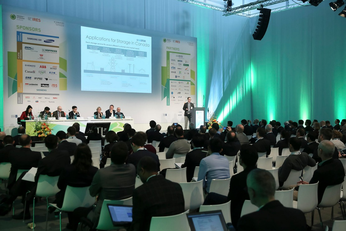 Energy Storage Europe is growing in attendance and importance every year. Pic: Energy Storage Europe.