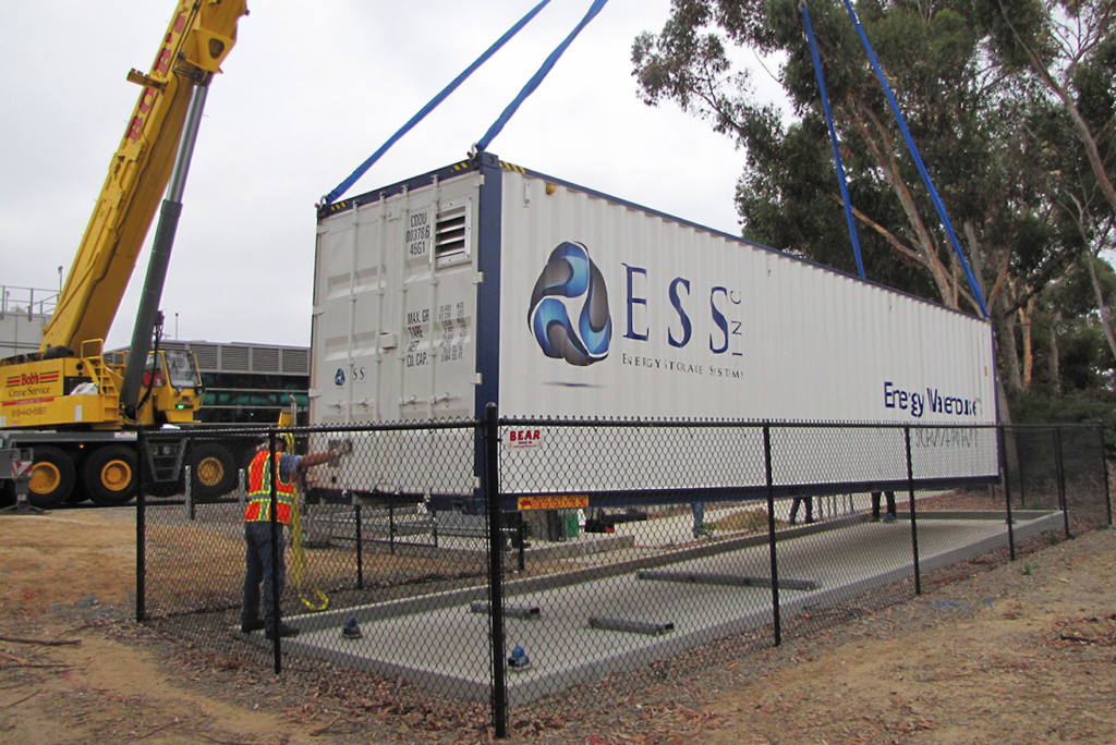 Growing interest in flow batteries has helped ESS attract investment from backers including BASF. Pic: ESS.