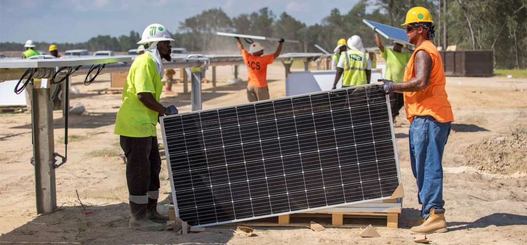 GridSME's model can help solar firms make more cash from their plants. Pic: Cypress Creek Renewables.