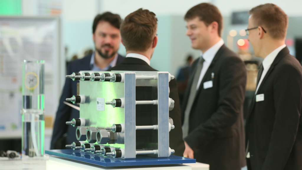 This year's Energy Storage Europe has been packed with announcements (photo from last year, courtesy of Messe Düsseldorf/ctillmann).