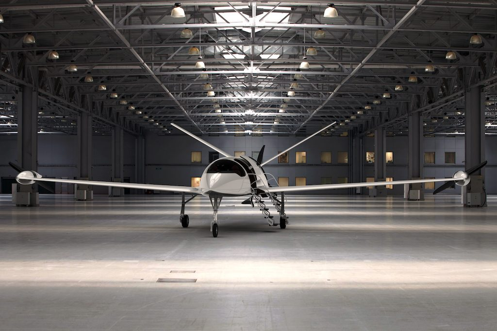 Poised for takeoff? Eviation's electric plane, the Alice.