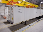 A123 Long Duration grid storage system. Pic courtesy of A123 Systems