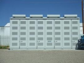 NGK is known for the development of sodium-sulphur (NaS) batteries, Sumitomo are currently working on vanadium redox flow batteries.
