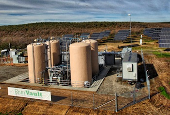 EnerVault has opened the largest iron-chromium flow battery in the world in California, which will be used for solar energy storage.