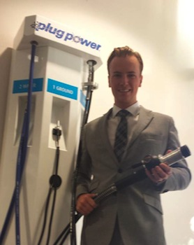 We analyse the potential market for hydrogen fuel cell energy storage. Photo: Power Plus stock was not as affected as Ballard Power by the bankruptcy of the fuel cell technology company ClearEdge Power.