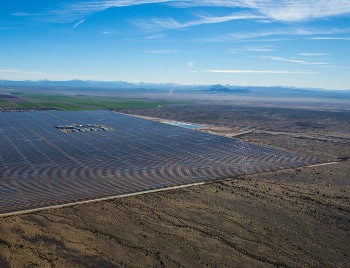 Energy storage in Arizona should see huge growth if new procurement proposals from the state utility APS and RUCO are approved by the Arizona Corporation Commission. Photo: Abengoa, Solana solar power station