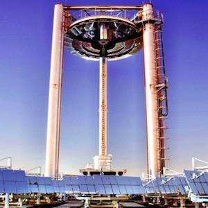 The EnergyNest pilot concrete thermal energy storage system at Masdar Solar Hub, based on Heatcrete from HeidelbergCement Group, could be game changing. Photo credit: Masdar Institute