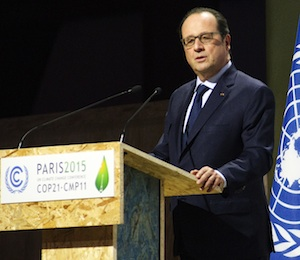 COP21 2015: We analyse what participants at the Paris Climate Conference are saying about climate change and energy storage, and how it will affect global industry investment. Photo credit: COP21